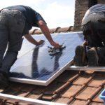 Panneaux solaires photovoltaïques pour une habitation ou locaux