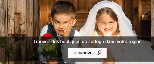 tenue de mariage enfant fille et garçon