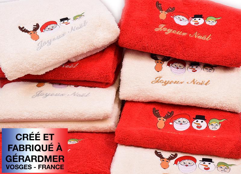 linge des vosges pour cadeau de Noel